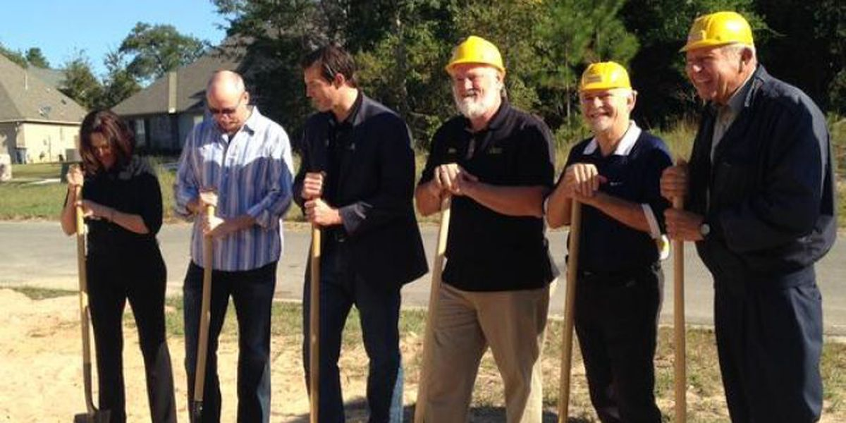 Construction begins on 2016 St. Jude Dream Home in Biloxi