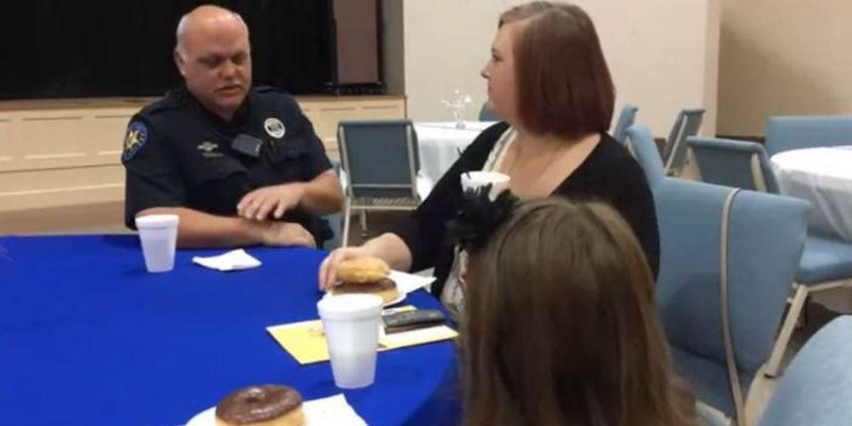 Harrison Co. deputies, residents meet over donuts