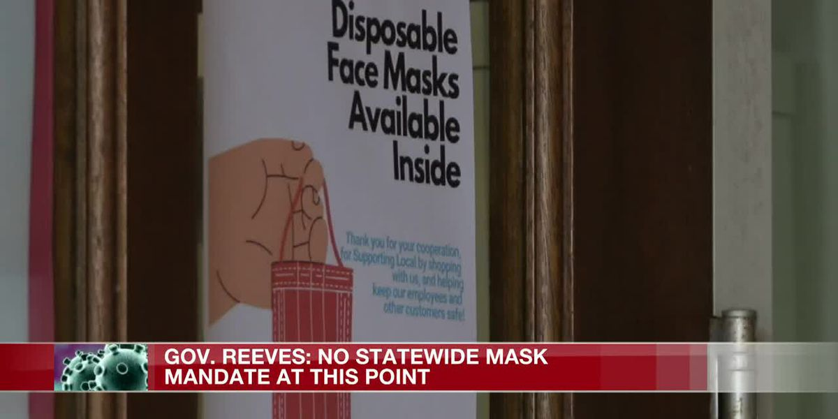 Reeves: County mask mandates reduced COVID spread, but won't work statewide