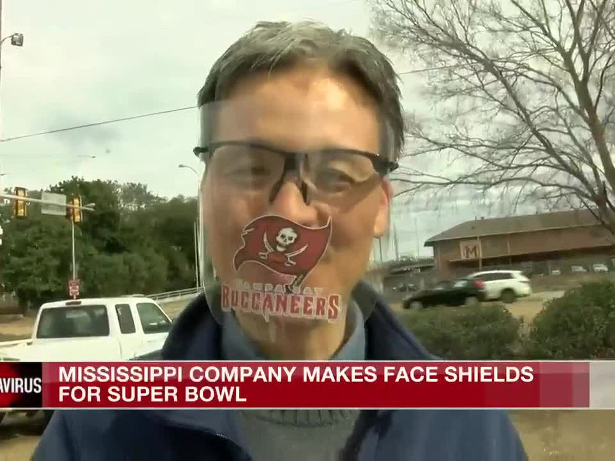 Miss. company making face shields for Super Bowl