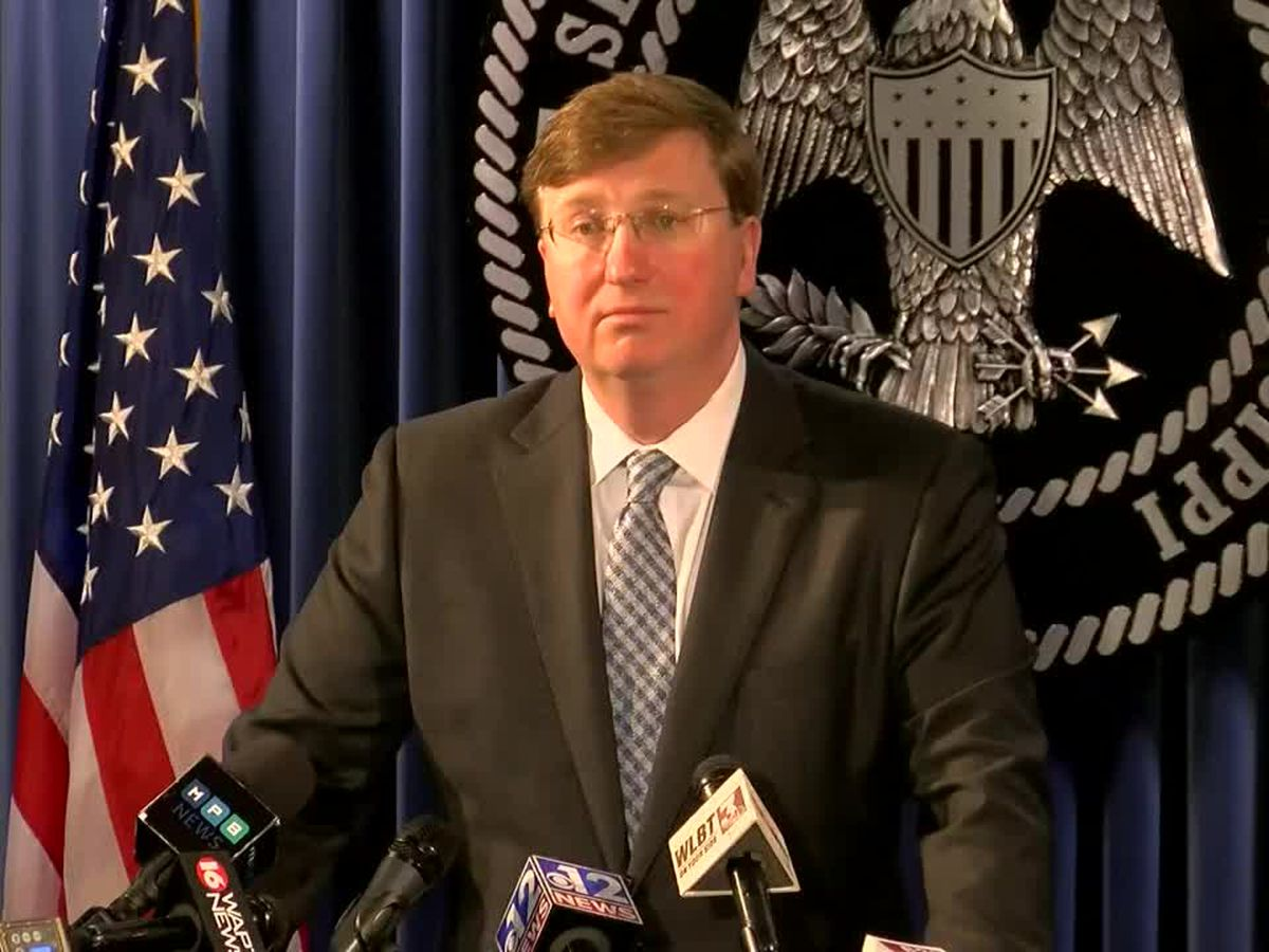 Gov. Reeves issues statewide 'shelter-in-place' order