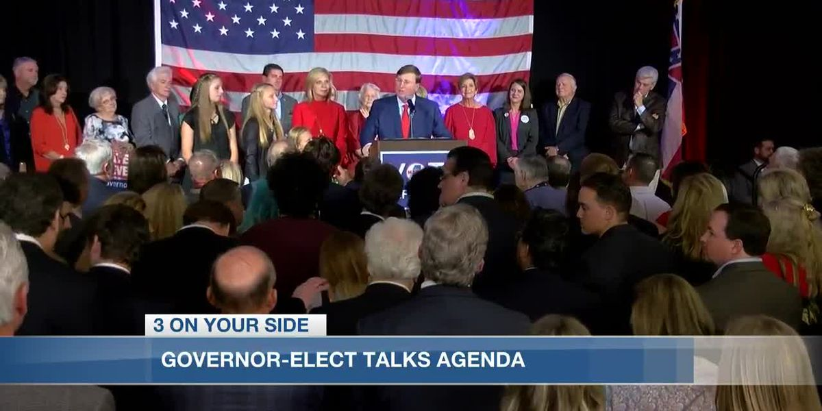 Governor-elect Tate Reeves talks future of his administration, vision for the state