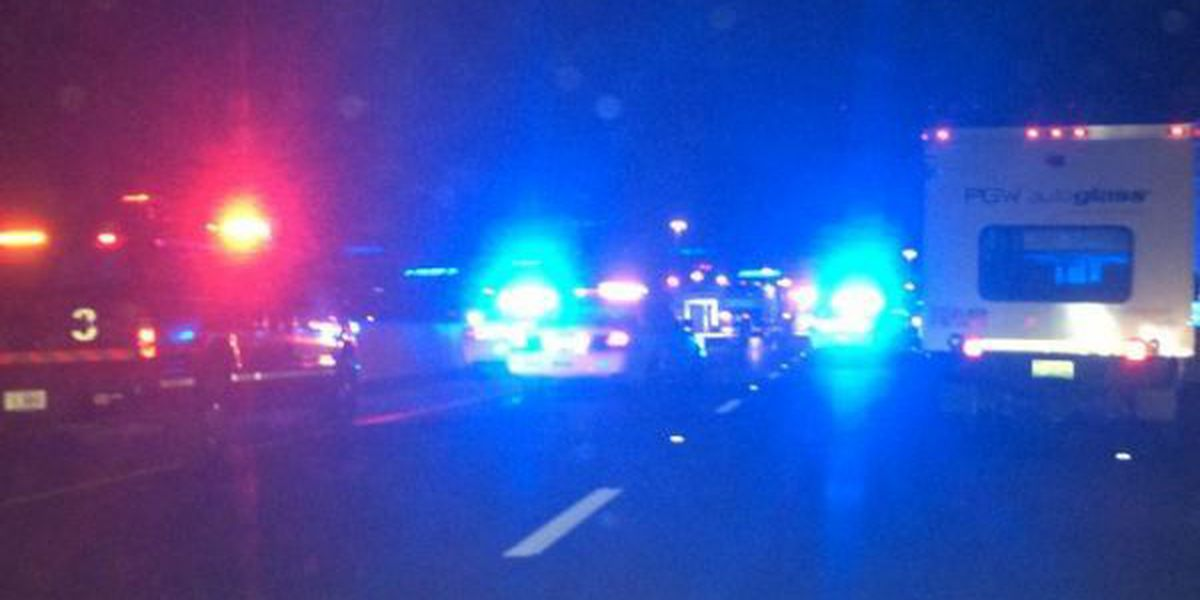 Police: One person killed in I-10 wreck near Hwy. 49