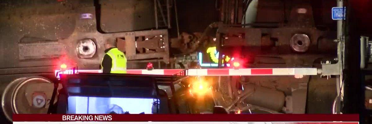 All roads back open after Petal train derailment, evacuees return home