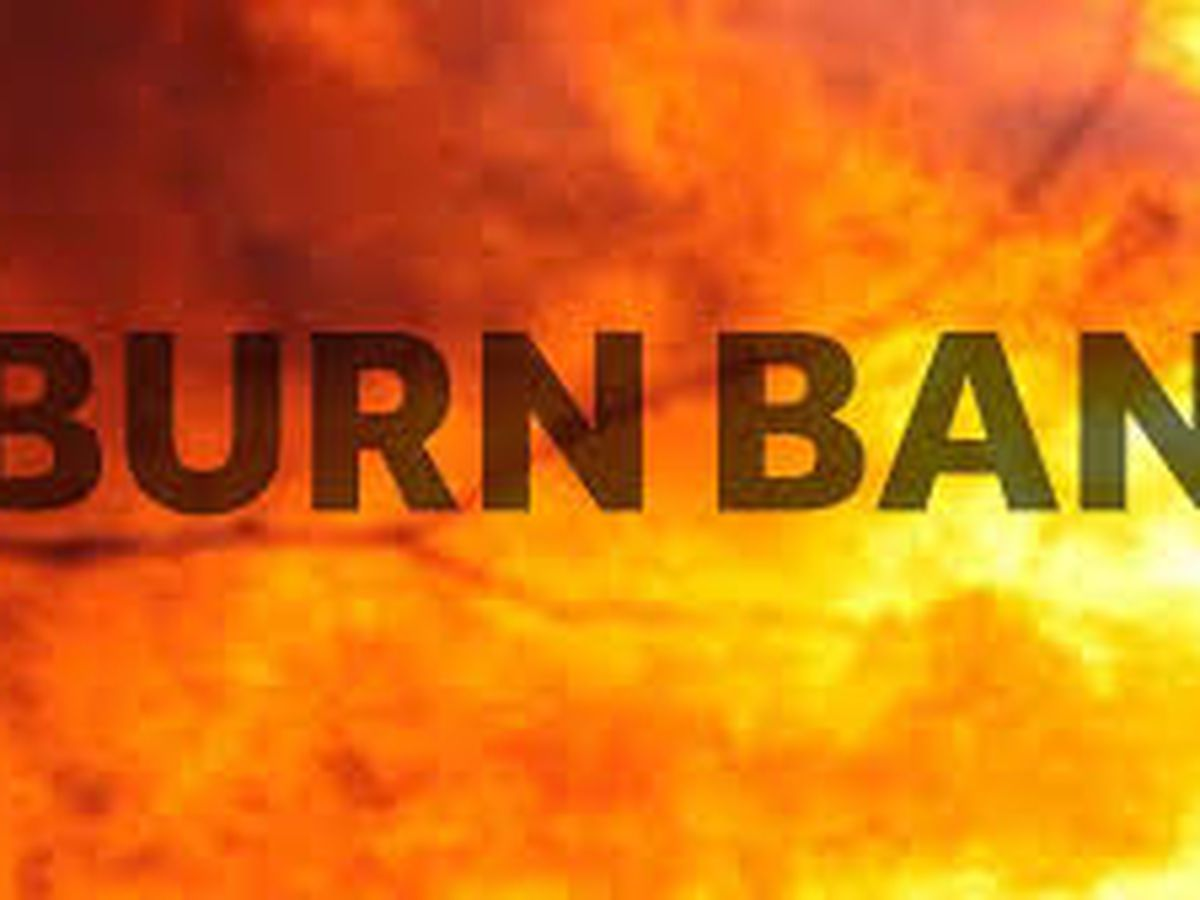 Burn ban in effect for Harrison County
