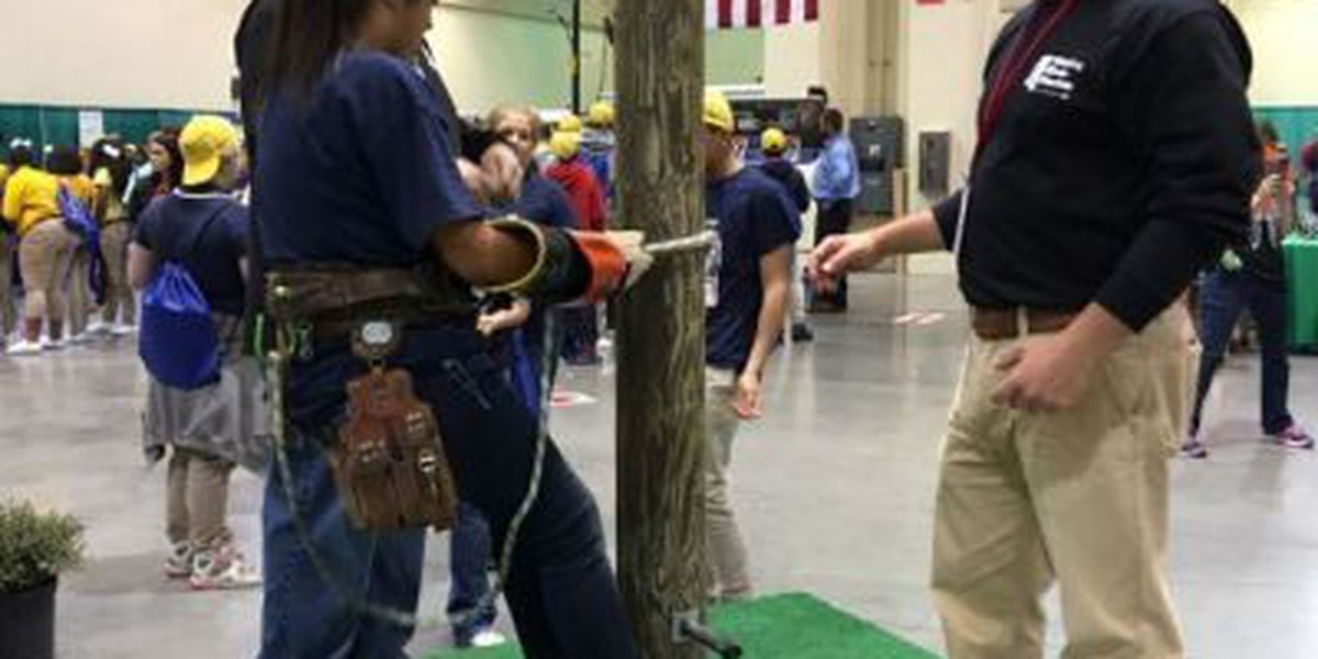 8th graders learn about future jobs at P2P career expo