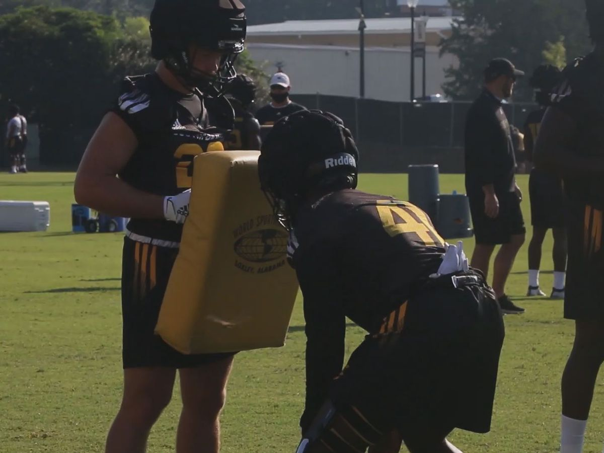 Southern Miss begin fall camp for the 2020 football season