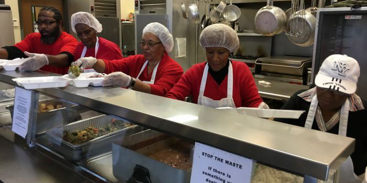 When Feed my Sheep closed for Christmas, these church members volunteered to feed the hungry