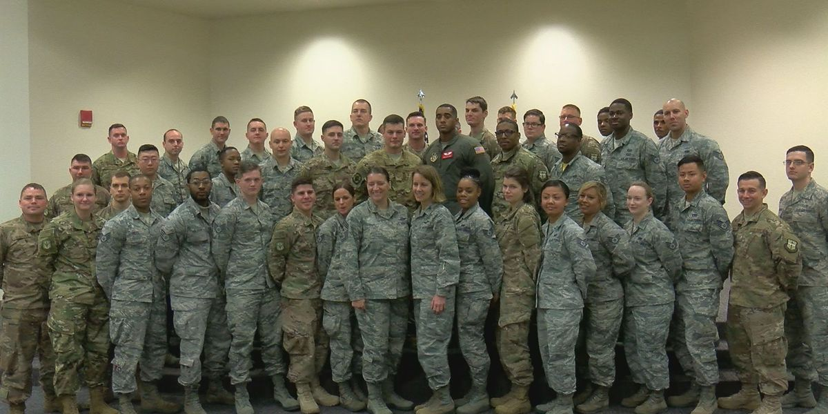 Air Force Reserves 403rd Wing promotes members to new ranks