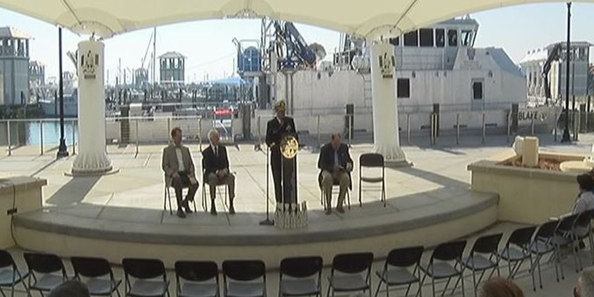 Survey Vessel Blake christened in Gulfport Harbor