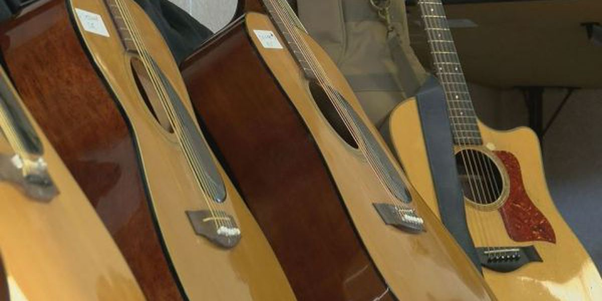 Songwriters Alliance donates guitars to St. Martin Middle