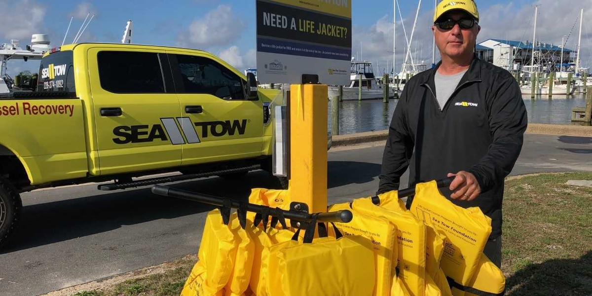 Loaner life jackets available in Biloxi to help keep people safe on the water