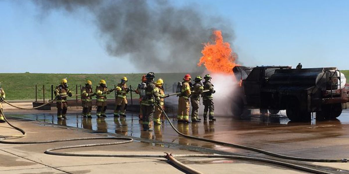 Volunteer firefighters receive hands-on training, courtesy of Chevron