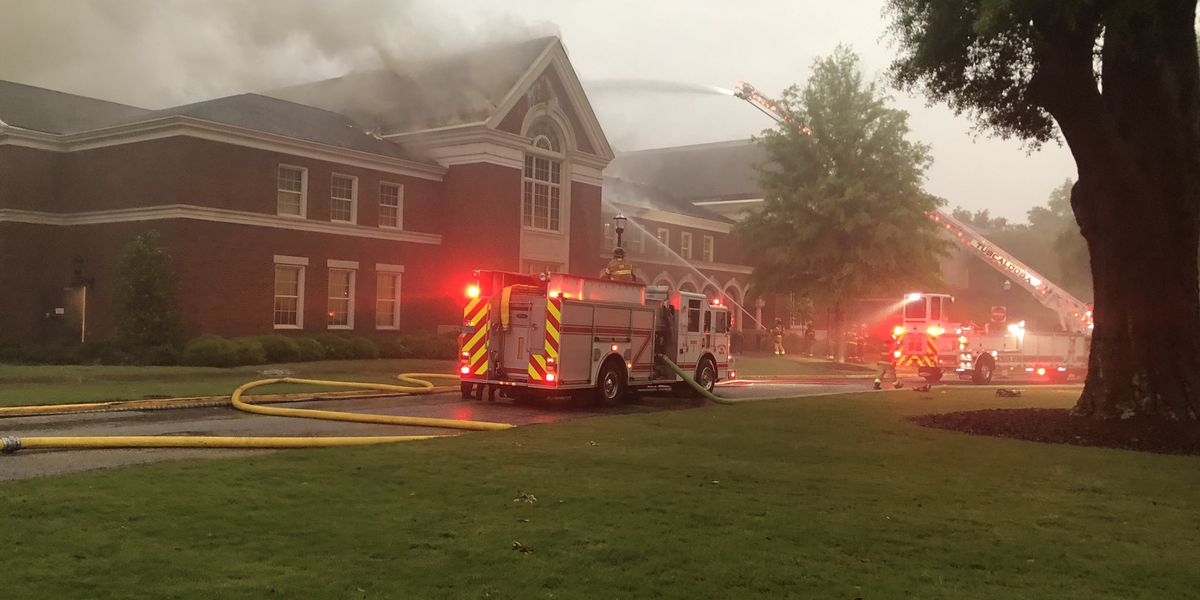 Fire at Moody Music Building on Univ. of Alabama campus under control