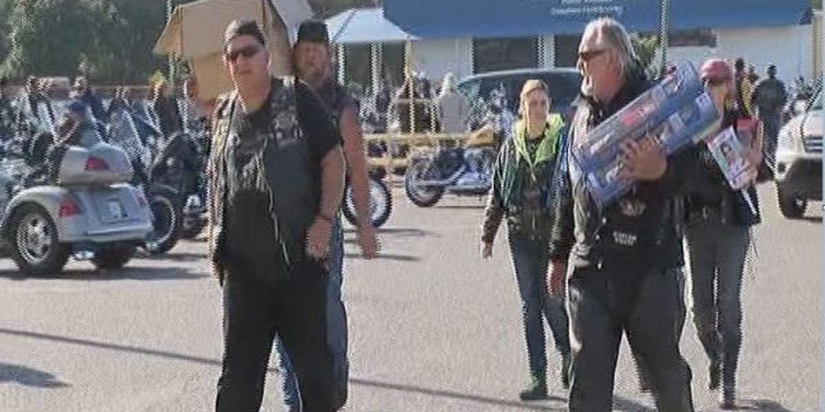 Gulf Coast motorcycle club collects toys for underprivileged kids