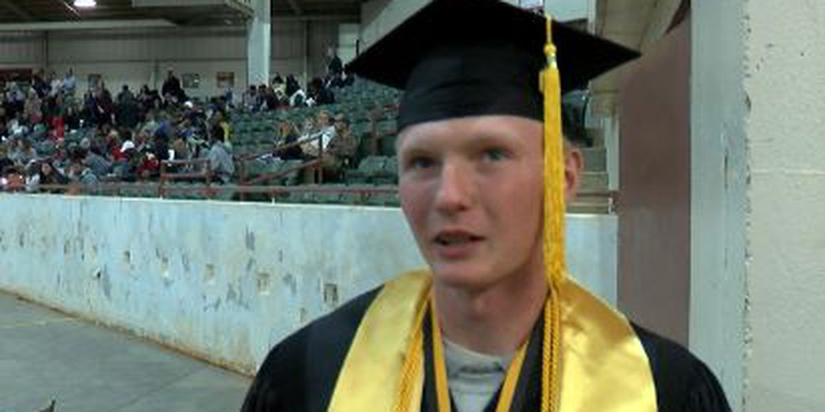 High school dropout graduates top of his class from Challenge Academy