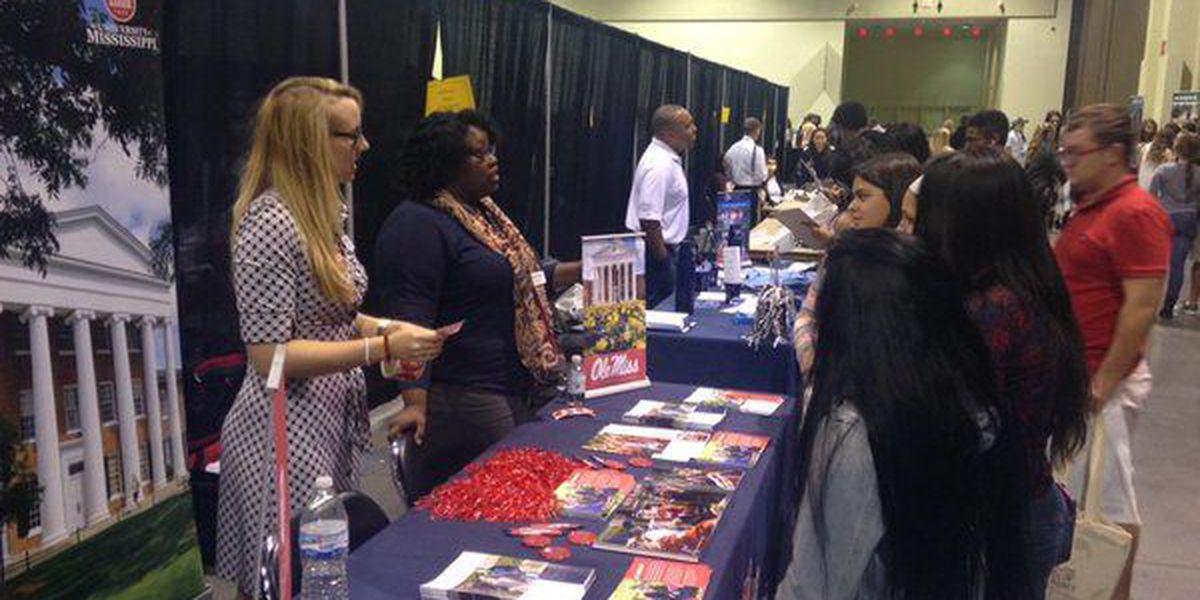 Local high school students attend college fair