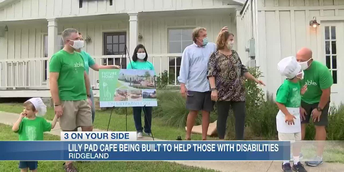 Lily Pad Cafe being built to help those with disabilities
