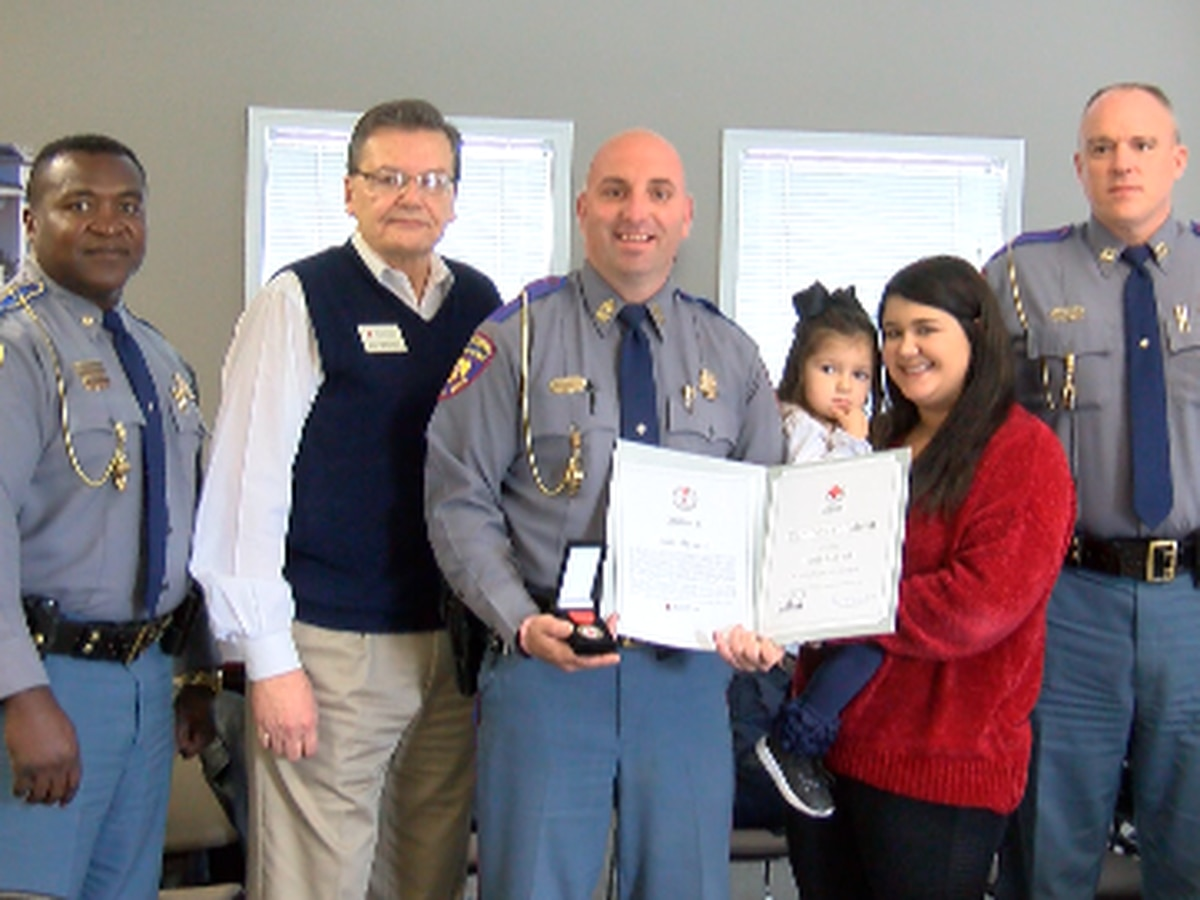 MHP trooper honored for saving life