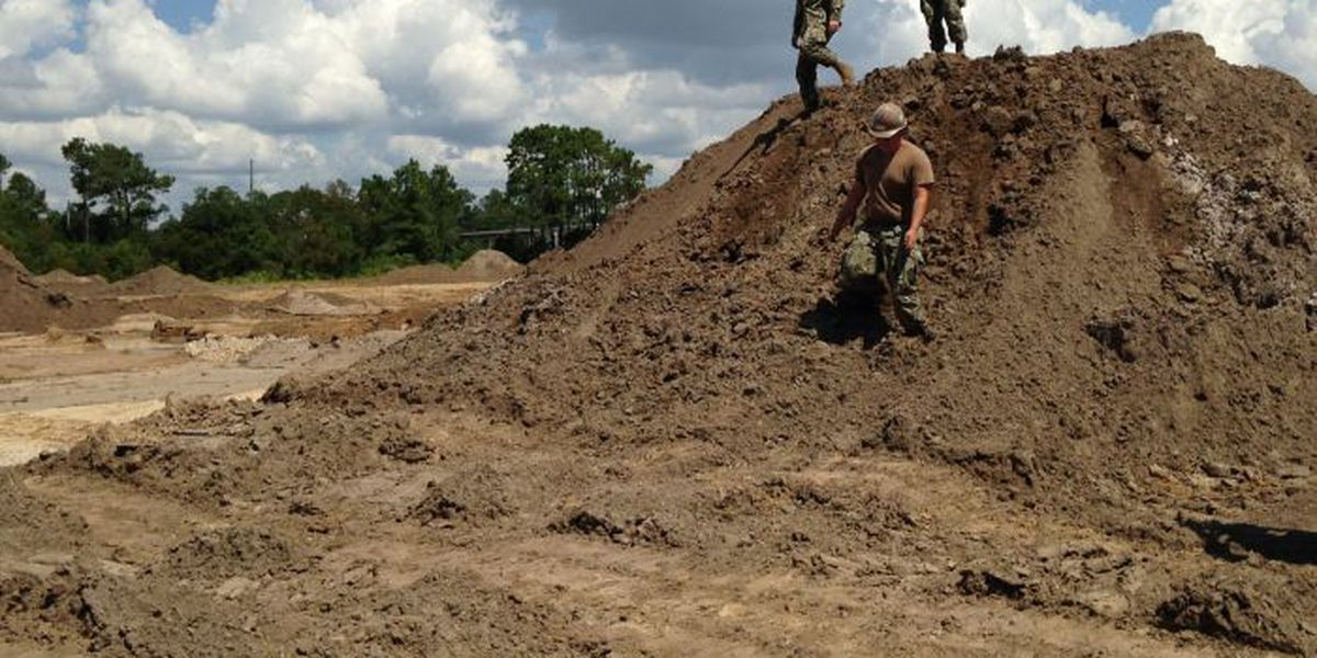 Runners prepare to get down and dirty at Seabee Mud Run
