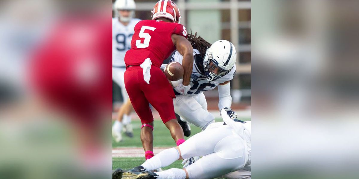 Penn State player tweets 'racist' letter sent to teammate about 'disgusting' dreadlocks