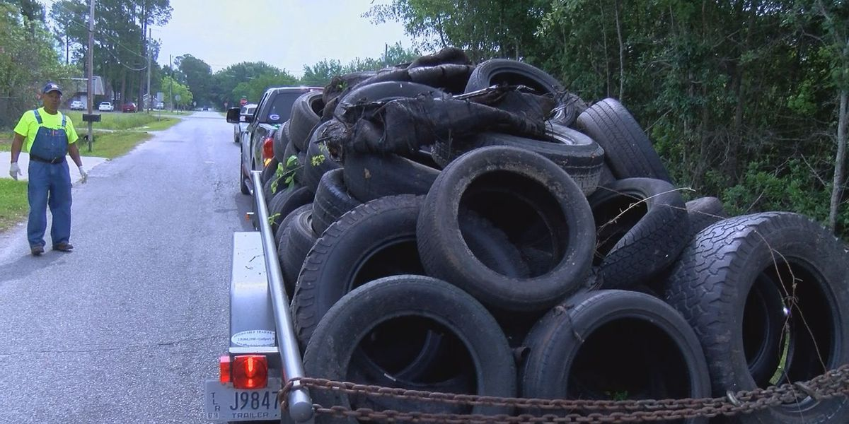 Harrison County residents band together to clean up community