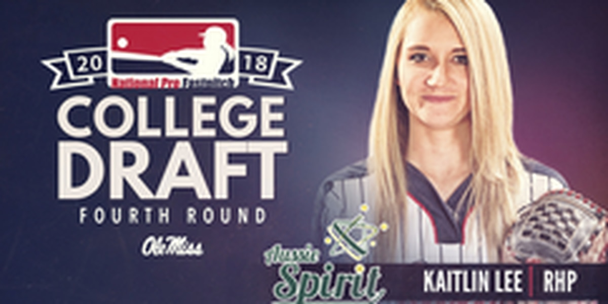 Ole Miss ace Kaitlin Lee drafted in the fourth round in the 2018 NPF Draft