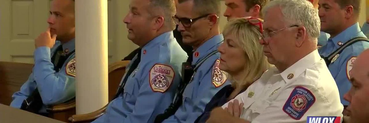 Church honors local heroes on 9/11 with Blessing of the Badges and Boots
