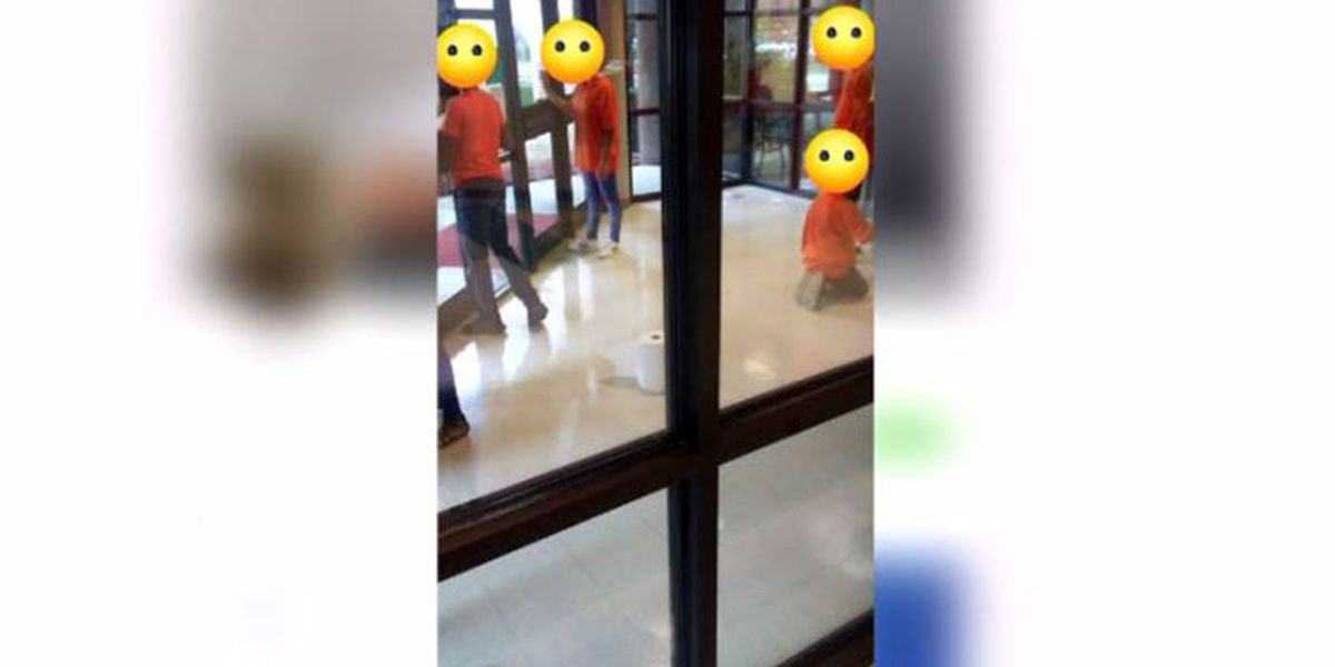 'It looks like they're in jail': TX students in detention wear orange shirts, clean windows