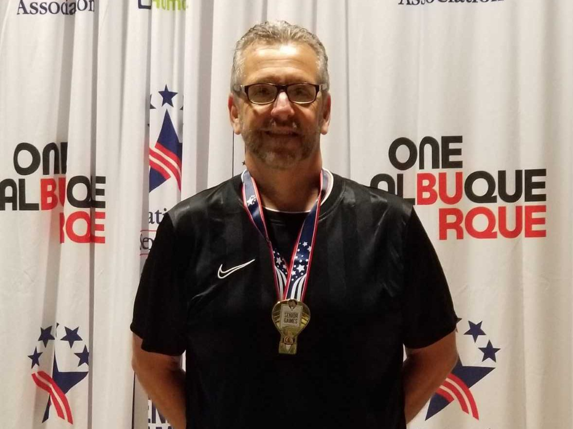 Palace Casino's food & beverage director wins gold medal at National Senior Games