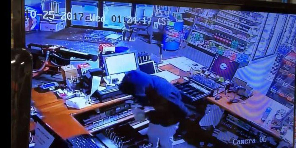 McDaniel's General Merchandise burglary caught on tape