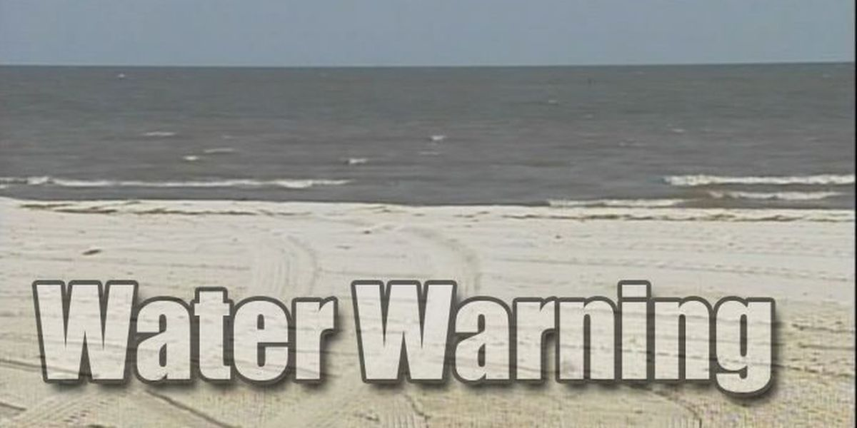 MDEQ: Six areas of the Mississippi Sound not safe for swimming