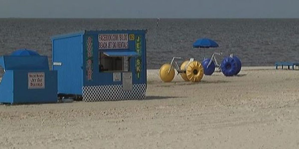 Rental businesses feeling the pinch from recent beach closures