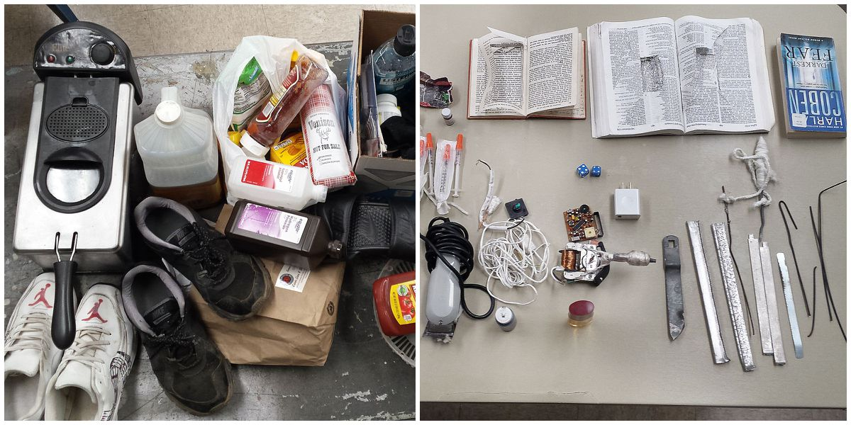 Deep fryer, drugs, money and more found in MDOC shakedown