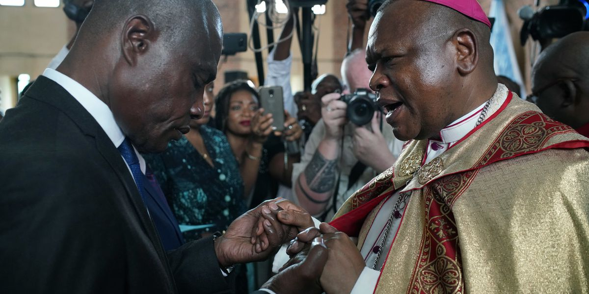 Congo's top archbishop pleads for peace on eve of election
