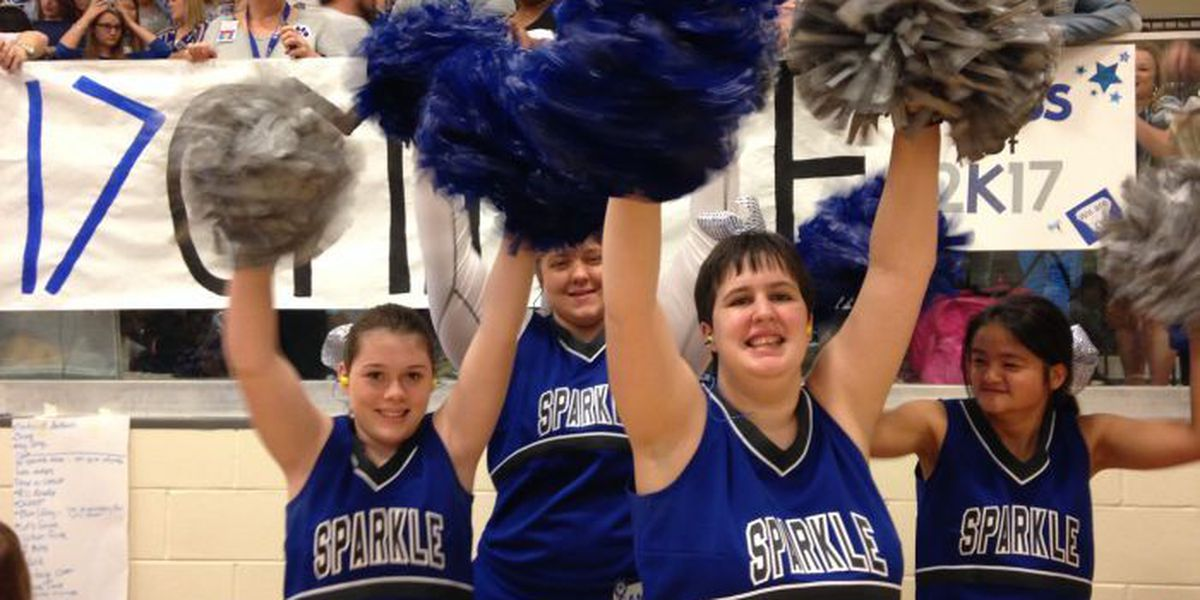 Os Students With Disabilities Shine On New Cheerleading Team