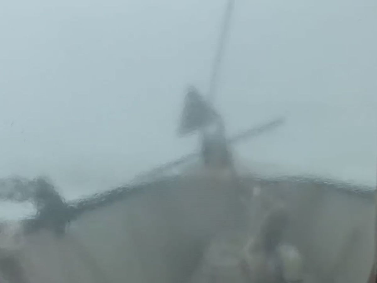 'We might lose her' - Video from shrimp boat shows terrifying conditions off La. coast around the same time Seacor Power capsized