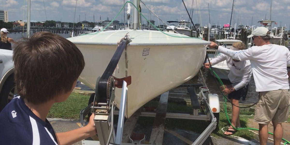 Gulfport Yacht Club says goodbye to Flying Scot