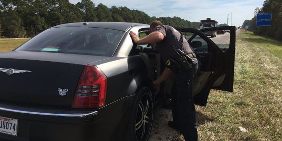 South Mississippi's I-10 a popular route for drug runners