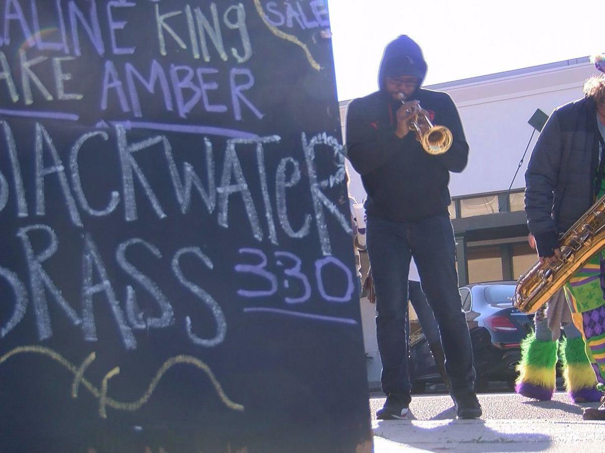 Blackwater Brass keeps Mardi Gras spirit alive on Fat Tuesday