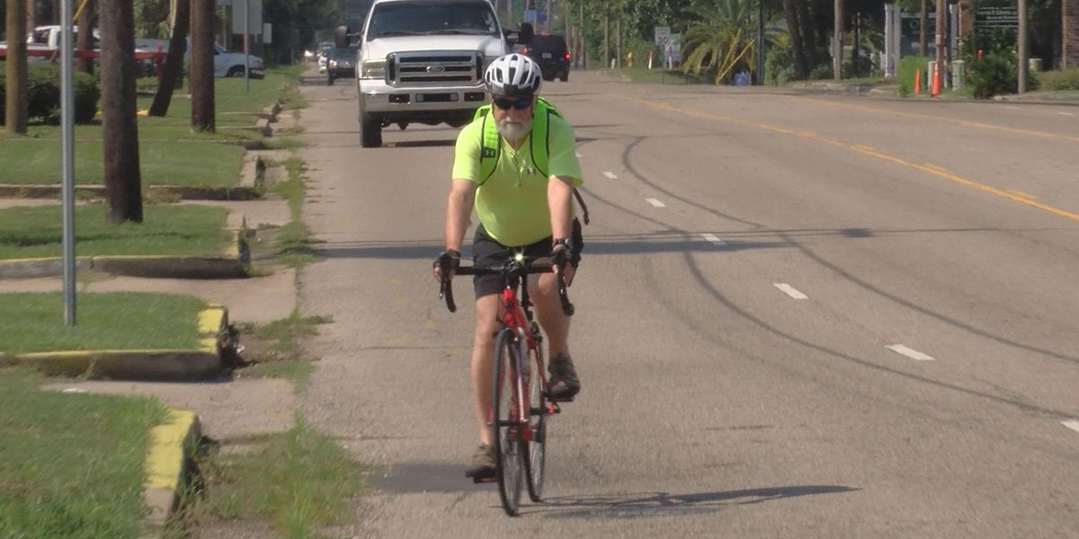 Cyclist rides again after suffering near fatal accident
