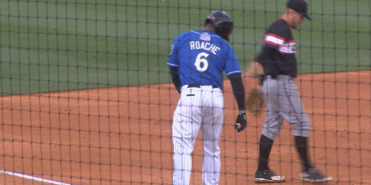 Shuckers outfielder Victor Roache traded to Dodgers