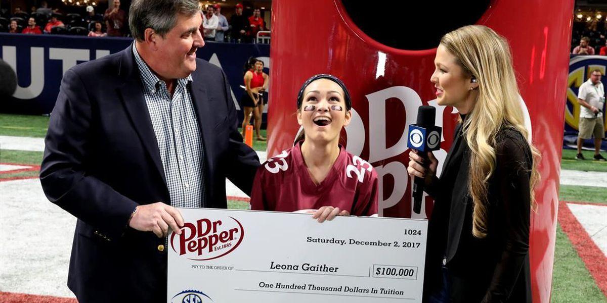 Biloxi-born student wins $100,000 at SEC Championship game