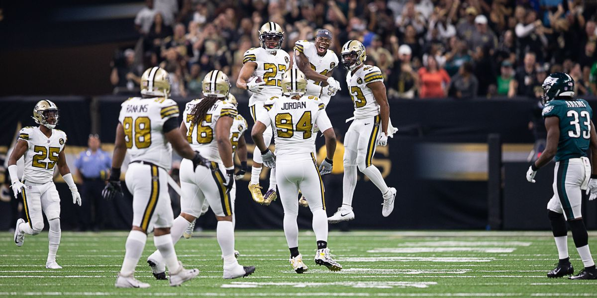 Saints open as 14-point favorites over the Falcons