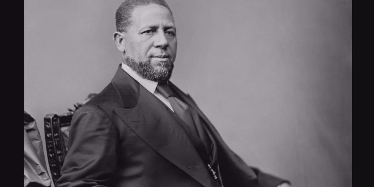 Resolution introduced honoring Hiram Revels, country's first African-American senator