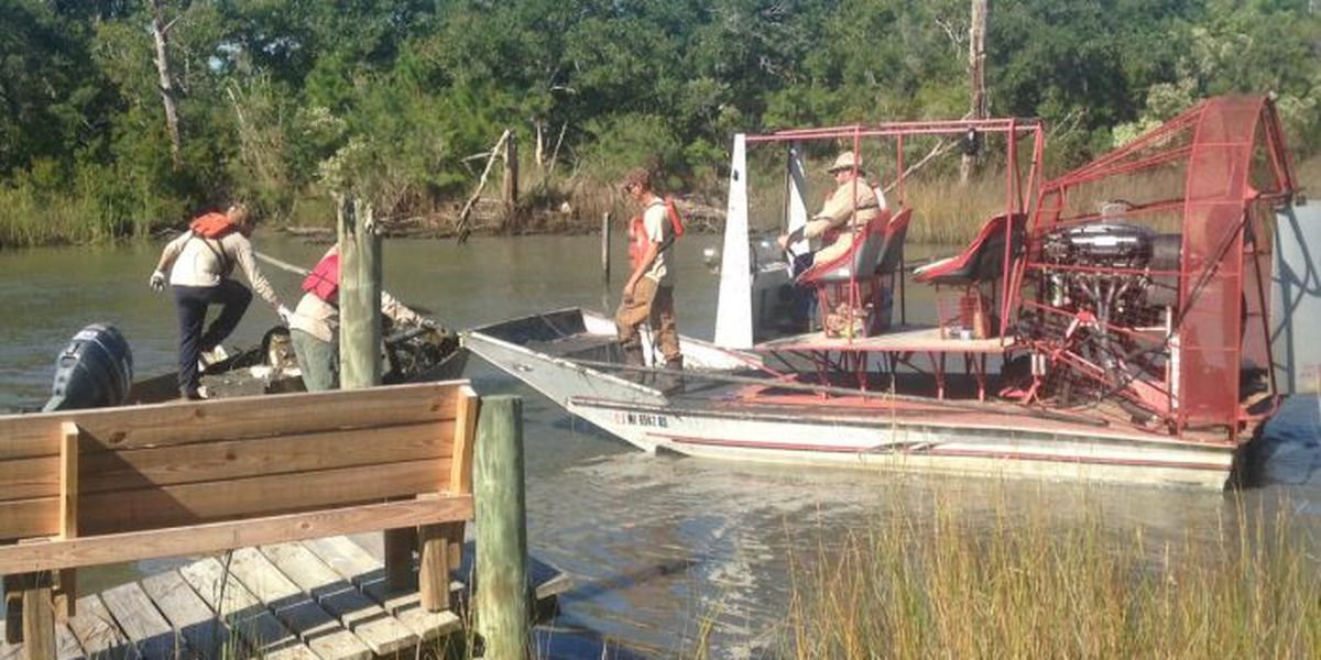 Katrina debris removed from Clermont Harbor