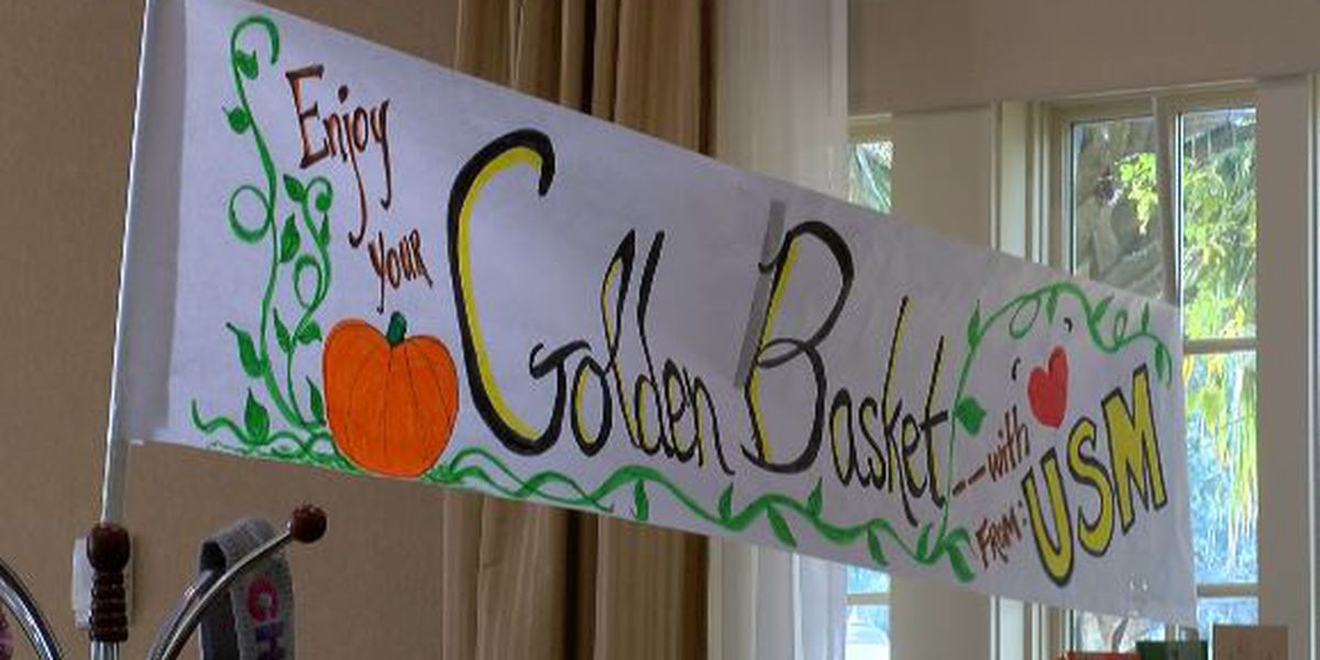 USM Golden Baskets gives back in time of need