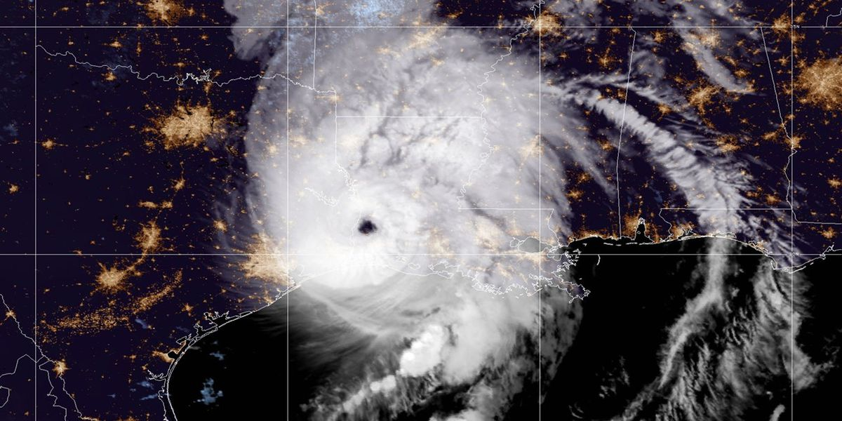 Hurricane Laura caused the Mississippi River to flow backwards