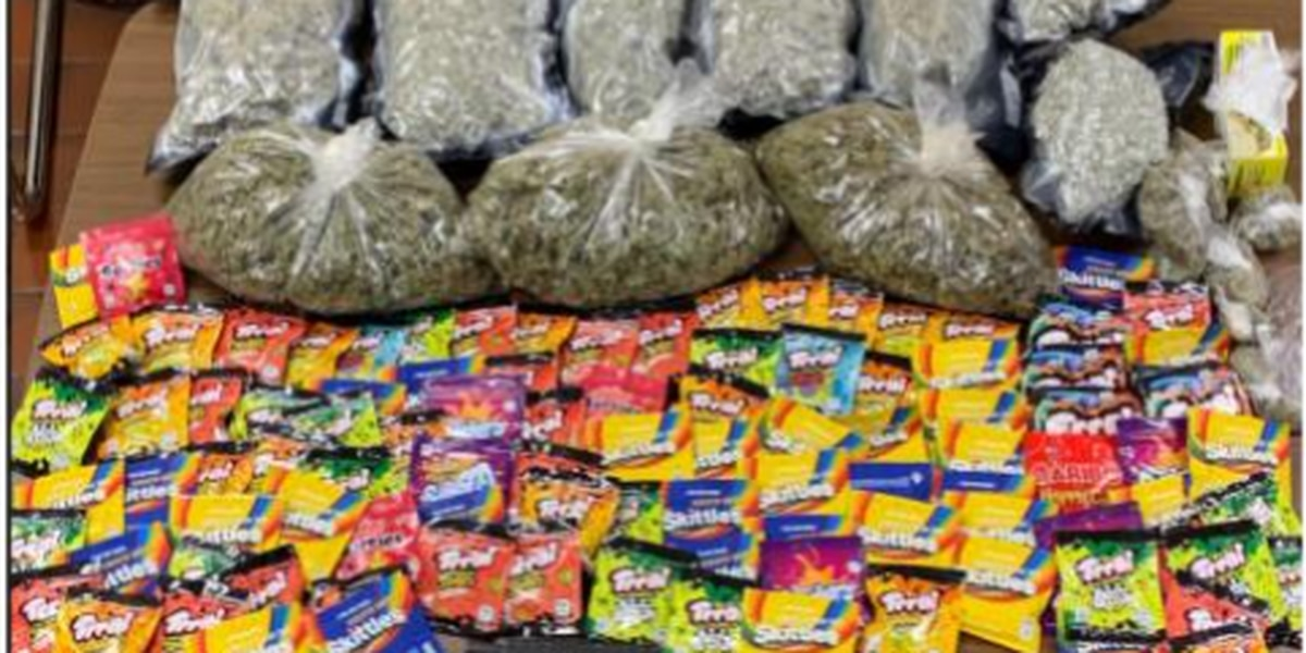$48,000 in marijuana and marijuana candy found after police chase
