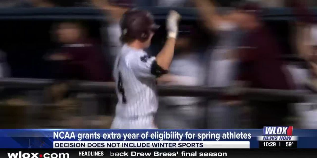 NCAA grants extra year of eligibility for spring sports